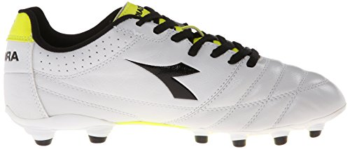 Diadora Italica Goal Soccer Cleat White/Black/Red njFZ6