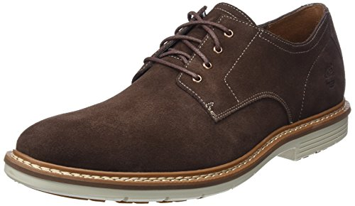 Timberland Men's Naples Trail Oxford Dark Brown Suede 13 D US