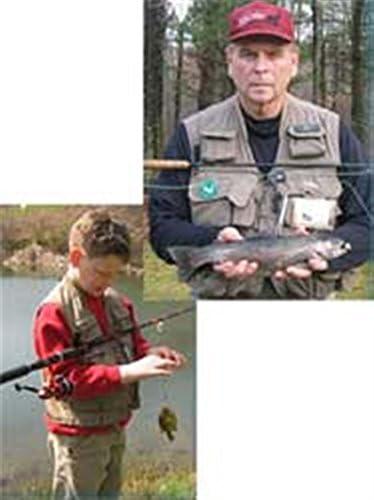 Fishing Rod Holder Fish Hands Free Improved