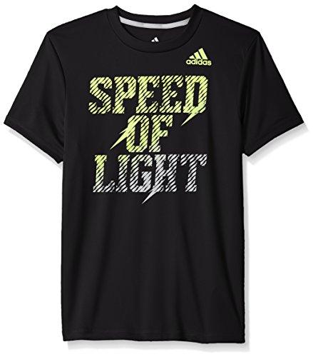 adidas Big Boys' Active Tee Shirt, Black, - Northwest Shirt Black
