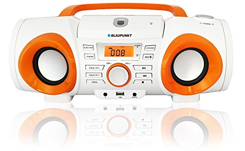 Blaupunkt BB20BT Boombox FM, CD, MP3, USB Tragbarer rekorder mit Bluetooth