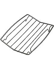 KitchenCraft V-formad Master Class non-stick bratrost, stål, grå, 26 x 20 x 3,2 cm