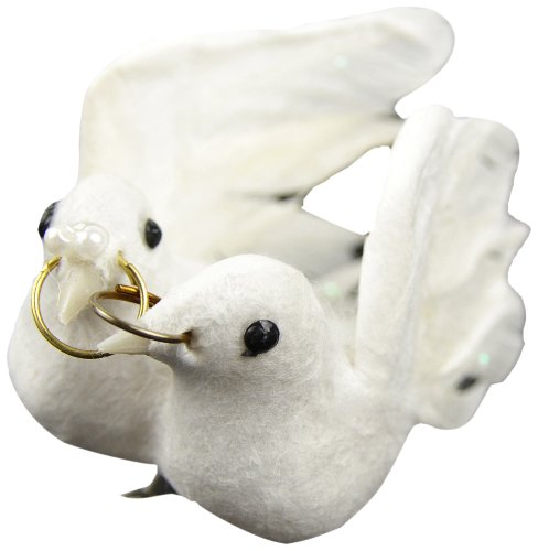 UPC 684653212227, Touch of Nature 21222 Feather Wedding Dove Couple, 3-Inch