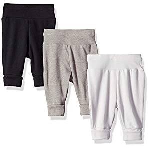 Best Epic Trends 411CpjpYCQL._SS300_ Hanes Ultimate Baby Flexy 3 Pack Adjustable Fit Knit Jogger Pants