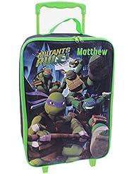 Personalized Ninja Turtles Kids Rolling Luggage