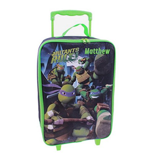 Personalized Ninja Turtles Kids Rolling Luggage (Ninja Turtles)