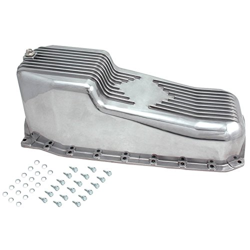 Spectre Performance 4989 Aluminum Oil Pan for Small Block Chevy
