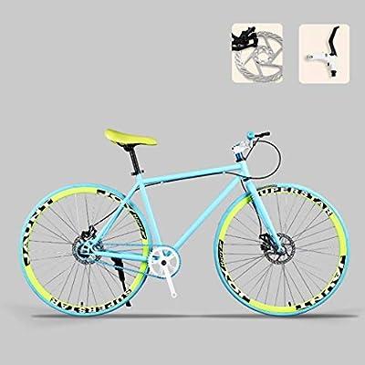 ZTYD Camino de la Bicicleta, Bicicletas 26 Pulgadas, Doble Disco ...