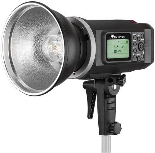 Bowens Mount Flashpoint XPLOR 600 HSS R2 Battery-Powered Monolight Kit with XP-600 Extention Head