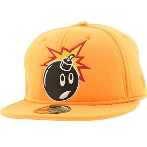 The Hundreds Soft Adam New Era Fitted Cap (orange)