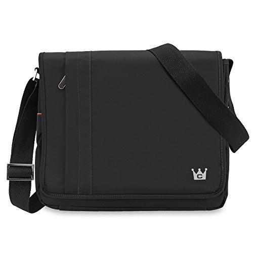 CaseCrown Horizontal Mobile Messenger Bag (Black) for Microsoft Surface/Microsoft Surface Pro