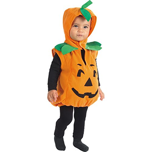 Jason Party Halloween Pumpkin Costume Suit Party Clothing Clothes for Children Kids (2-4years, pumpkin)