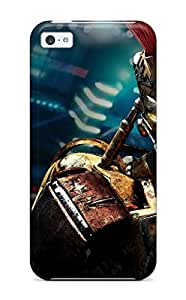 Yasmeen Afnan Shalhoub's Shop New Style Durable Midas In Real Steel Back Case/cover For Iphone 5c 9155772K94324558