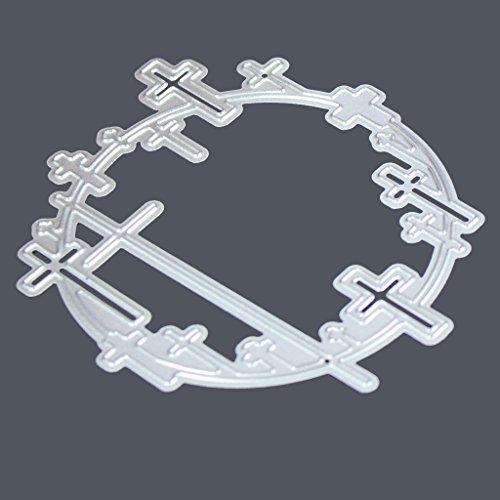 (Mimgo D Series Metal Steel Embossing Cutting Dies Stencil Kit For Handmade DIY Scrapbooking Paper Card Craft -)