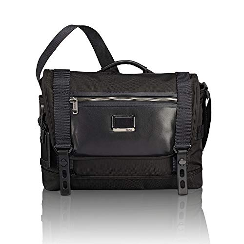 TUMI - Alpha Bravo Fallon Messenger Bag - Shoulder Crossbody Bag for Men and Women - Black