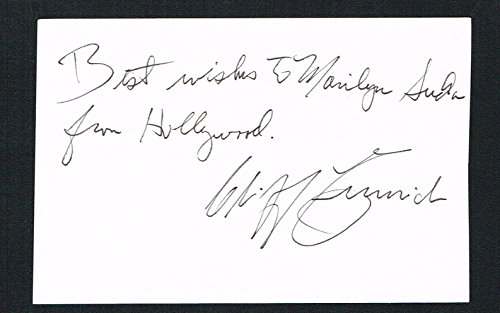 Cliff Emmich signed autograph 3x4.5 card Hospital Security Guard Halloween II