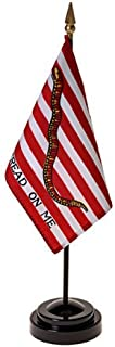 product image for 1St Navy Jack Flag 4X6 Inch Mounted E Gloss