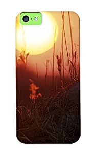 Appearance Snap-on Case Designed For Iphone 5c- Lion Back Ride(best Gifts For Lovers)