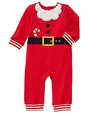 Baby Boy Santa One-Piece