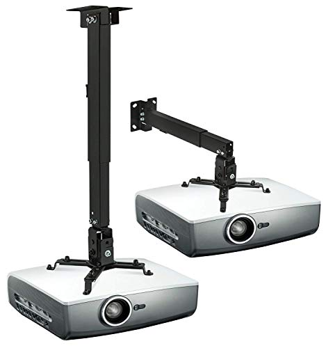 Mount-It! Wall or Ceiling Projector Mount with Universal LCD/DLP Mounting for Epson