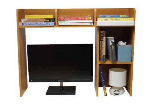 DormCo Classic Desk Bookshelf - Beech Color by DormCo