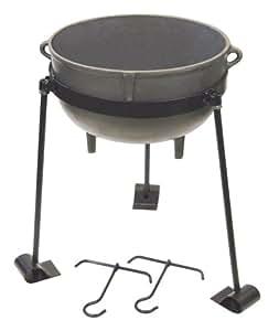 Bayou Classic Cast Iron 4-gallon Jambalaya Pot
