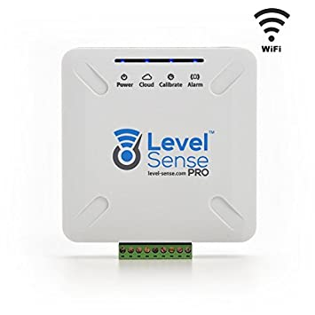 Level Sense PRO- Wi-Fi Enabled Sump Pump, Internal Self Recharging Battery, Temperature, Humidity, and Leak Detector. Displays Levels online.