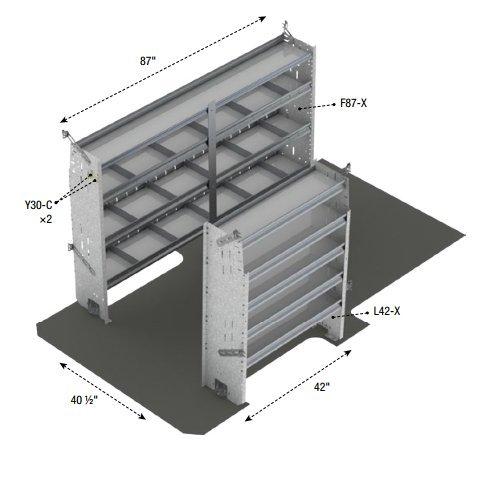 American Truck Equipment Ranger Design Contractor Package, Steel, Sprinter 144\' Wheel Base - Z10-G2 Sprinter 144 Wheel Base - Z10-G2