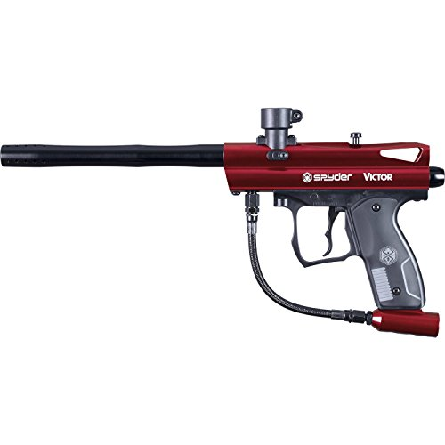 Spyder Victor Paintball Marker - Gloss Red by Spyder