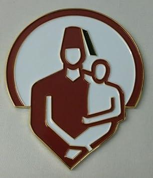 """Shriners  Masons masonic 3/"""" Metal car Emblem 3D  decal MAS11"""