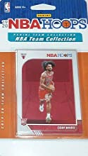Chicago Bulls 2019 2020 Hoops Basketball Factory Sealed 9 Card Team Set with Lauri Markkanen, Zach LaVine and a Coby White Rookie Card Plus