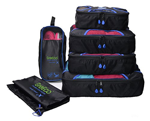 GreEco Packing Cubes Plus Laundry