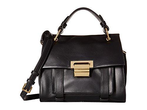 048f2f7d163 Ivanka Trump Women's Turner Small Satchel Black Handbag: Amazon.co ...