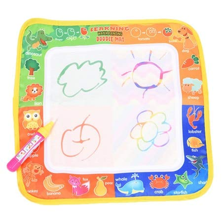 GonPi | Drawing Toys | 1 Piece Children New Toys Water Drawing Mat Board Painting and Writing Doodle with Magic Pen Non-Toxic Drawing Board for - Matboard Decorative