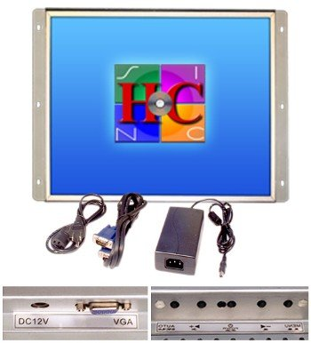 17 Inch Arcade Game LCD Monitor, for Jamma, Mame, and Cocktail Game Cabinets, Also Industrial Pc Panel Mount. by RetroArcade.us