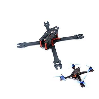 usmile F2 Mito 210 210mm 5 inch X Carbon Fiber Quadcopter Frame Kit FPV Racing Quad Drone with Quick Removable 4mm arm Suit for 5″ Props HS117 RunCam Swift Eagle 2 RunCam Sparrow
