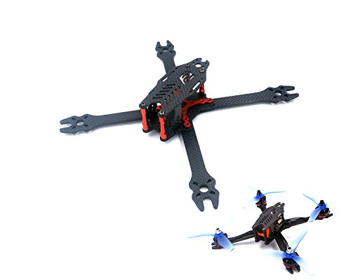 usmile F2 Mito 210 210mm 5 inch X Carbon Fiber Quadcopter Frame Kit FPV Racing Quad Drone with Quick Removable 4mm arm Suit for 5