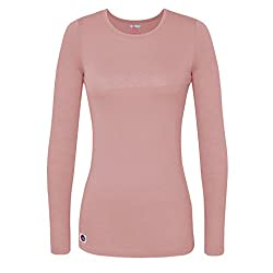 Sivvan Women's Comfort Long Sleeve T-shirtunderscrub Tee - S8500 - Bls - 2x