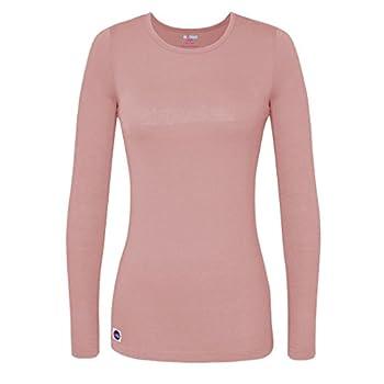 Sivvan Women's Comfort Long Sleeve T-shirtunderscrub Tee - S8500 - Bls - 2x 0