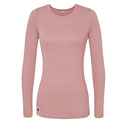 Sivvan Women's Comfort Long Sleeve T-Shirt/Underscrub Tee - S8500 - BLS - XS