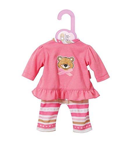 Zapf Creation 870150 - Dolly Moda Pyjama, 30-36 cm