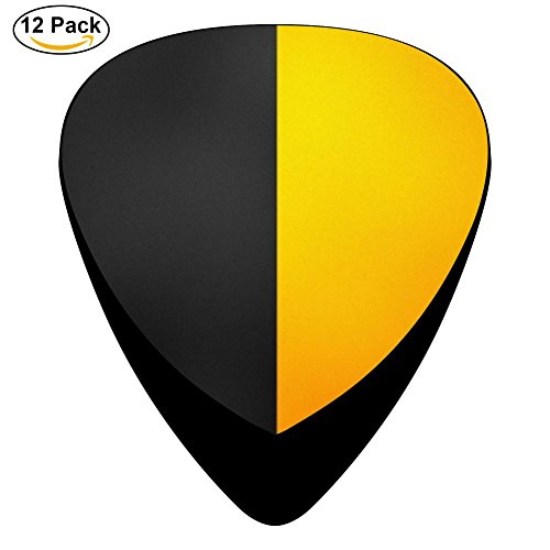 Line Paint Texture Gradient Celluloid Guitar Picks Plectrums For Guitar Bass,12 - Maker Gradient