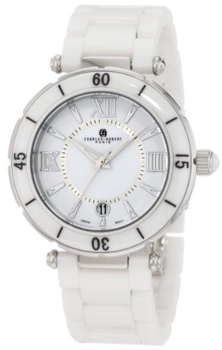 Charles-Hubert, Paris Men's 3879-W Premium Collection Ceramic Watch