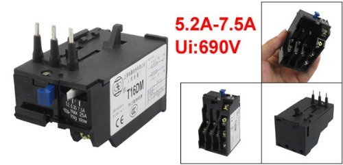 dealmux-t16dm-3-pole-52a-75a-current-range-motor-thermal-overload-relay-1no-1nc