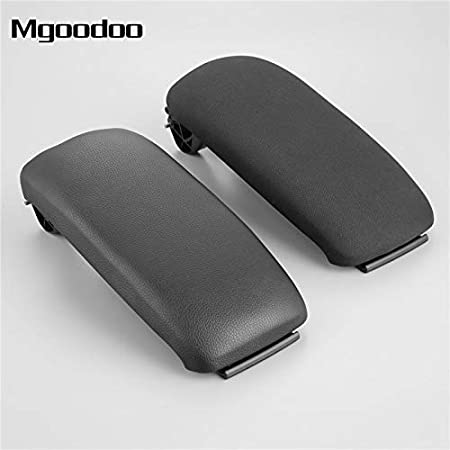 Black Leather Armrest Center Console Lid 8P0864245P for Audi A3 8P 2003-2012