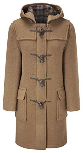 Wool Toggle Coat (Original Montgomery Womens Duffle Coat -- Camel Size 14)