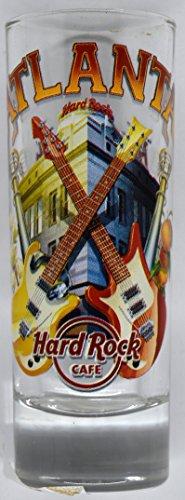 "NEW Hard Rock Cafe ATLANTA GEORGIA 4"" CITY SHOT GLASS in HRC Box"