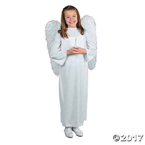 Angel Candle Wing (Fun Express Kid's Angel Costume With Wings & Candle - Large/Extra Large)