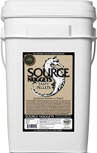 SOURCE NUGGETS PELLETED MICRONUTRIENT FOR HORSES - 25 POUND by DavesPestDefense