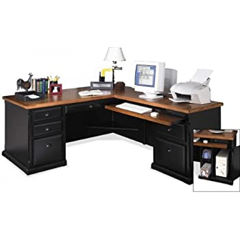 kathy ireland Home by Martin Southampton Left L-Shaped Desk
